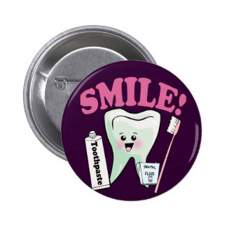 Dentist Dental Hygienist 6 Cm Round Badge
