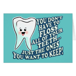 Dentist Dental Hygienist Card