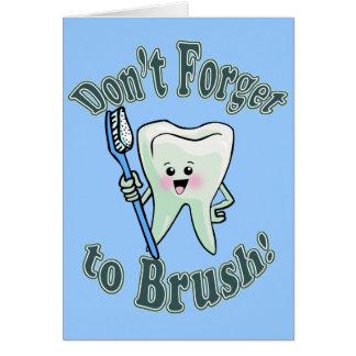 Dentist Dental Hygienist Greeting Card