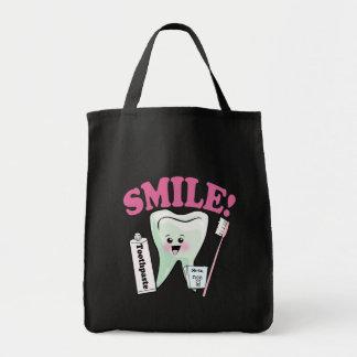 Dentist Dental Hygienist Grocery Tote Bag