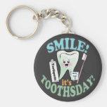 Dentist Dental Hygienist Key Chains