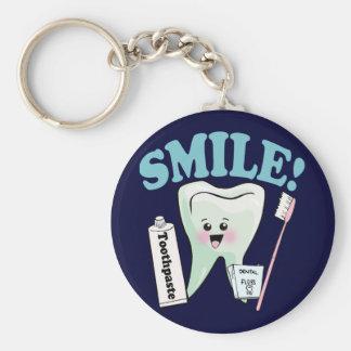 Dentist Dental Hygienist Key Ring