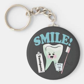 Dentist Dental Hygienist Keychains