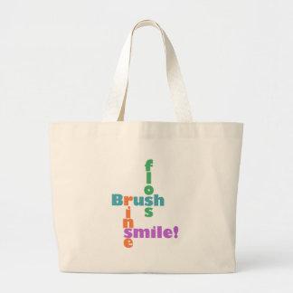 Dentist Dental Hygienist Large Tote Bag