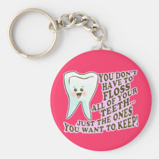Dentist Dental Hygienist Periodontist Key Ring
