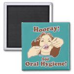 Dentist Dental Hygienist Square Magnet