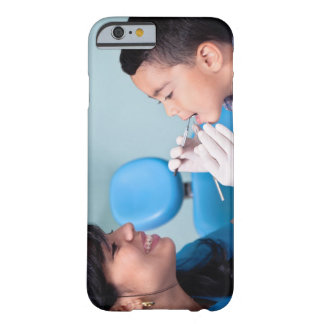 DENTIST, DOCTOR AND PATIENCE RELATIONSHIP BARELY THERE iPhone 6 CASE