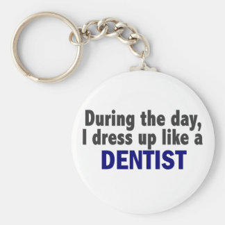 Dentist During The Day Key Chain