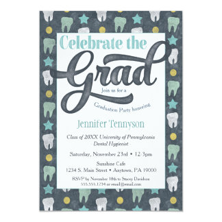 Dentist Graduation Invitation Dental Hygienist