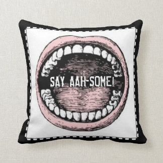Dentist Graduation Throw Pillow