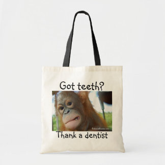 Dentist Gratitude Tote Bag