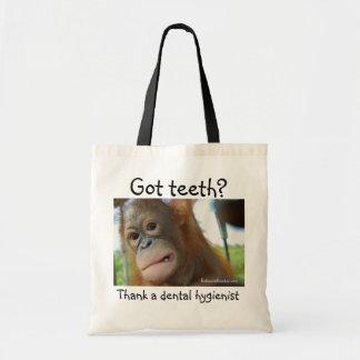 Dentist Gratitude Budget Tote Bag
