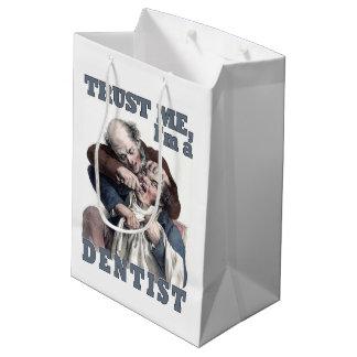 DENTIST humor gift bags