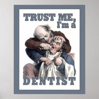 DENTIST humor poster