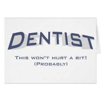 Dentist / Hurt Card