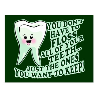 Dentist Hygienist or Orthodontist Postcard