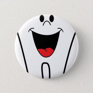 Dentist Image 6 Cm Round Badge