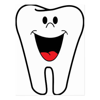 Dentist Image Postcard