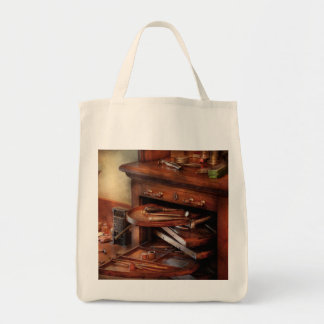 Dentist - Lab - Dental Laboratory Grocery Tote Bag