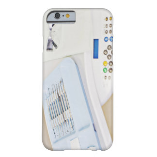 Dentist machinery, safety goggles and implements barely there iPhone 6 case