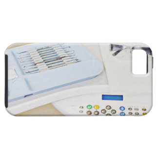 Dentist machinery, safety goggles and implements iPhone 5 cover