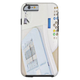 Dentist machinery, safety goggles and implements tough iPhone 6 case