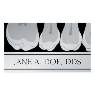 Dentist Office Dental Teeth X-Ray Illustration Business Cards