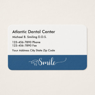 Dentist Office Professional Businesscards Business Card