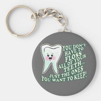 Dentist Orthodontist Periodontist Key Chain