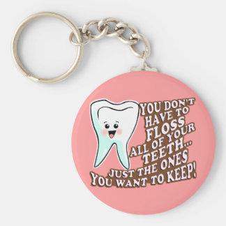 Dentist Orthodontist Periodontist Key Chains