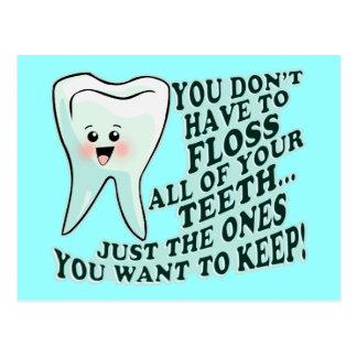 Dentist Orthodontist Periodontist Postcard
