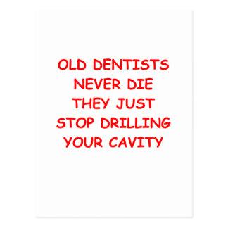DENTIST.png Postcard