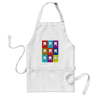 Dentist Popart Gifts Standard Apron