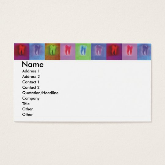 Dentist Profile Card