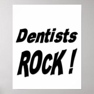 Dentist Rock! Poster Print