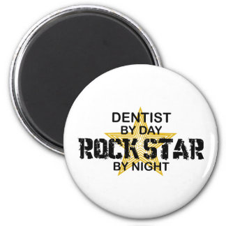 Dentist Rock Star by Night Magnet