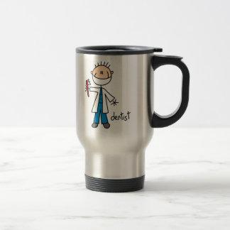 Dentist Stick Figure Coffee Mugs