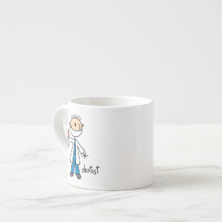 Dentist Stick Figure Espresso Mug