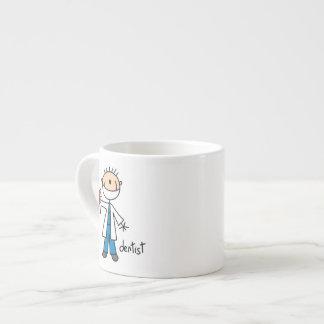 Dentist Stick Figure Espresso Cups