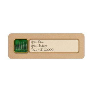 Dentist - The kit Return Address Label