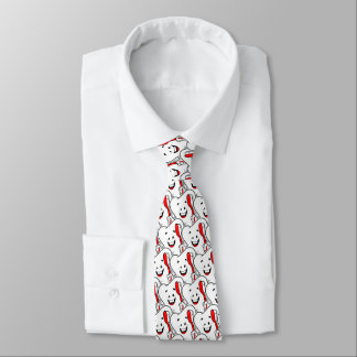Dentist Tooth and Toothbrush Tie