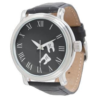 Dentistry Professional Custom Molar Initials Wrist Watches