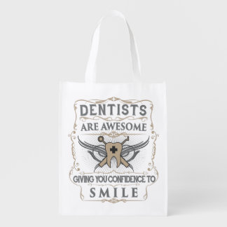 """Dentists are Awesome!"" Reusable Bag"