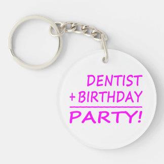Dentists Birthdays Dentist + Birthday Party Key Chains