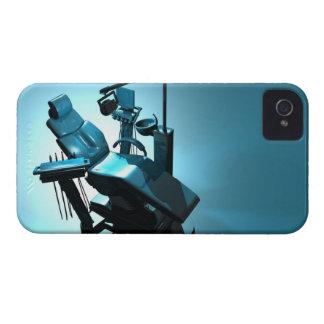Dentist's chair, computer artwork. Case-Mate iPhone 4 case