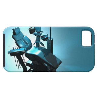 Dentist's chair, computer artwork. iPhone 5 covers
