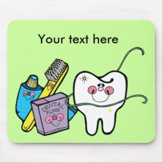 Dentist's Day March 6 Mouse Pad