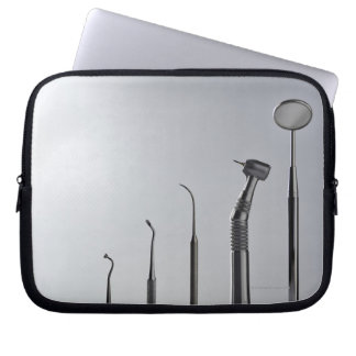 Dentist's instruments laptop sleeve