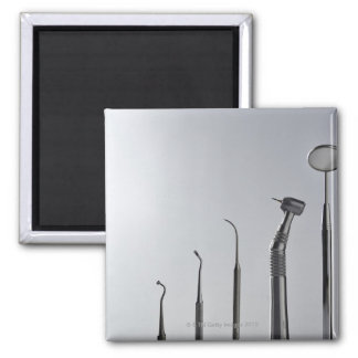 Dentist's instruments magnet