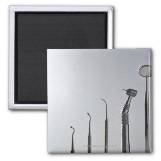 Dentist's instruments square magnet